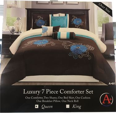 Picture of Luxury 7pcs Comfortor Set