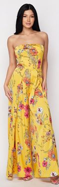 Picture of Jumpsuit Flower No sleeve
