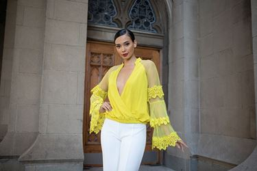 Picture of Sweet & Classy Top - Yellow